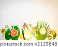 summer fresh fruits 42125849