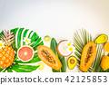 summer fresh fruits 42125853