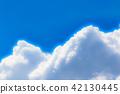 푸른 하늘, 파란 하늘, 여름 42130445