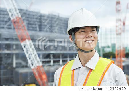 建筑工人 42132990