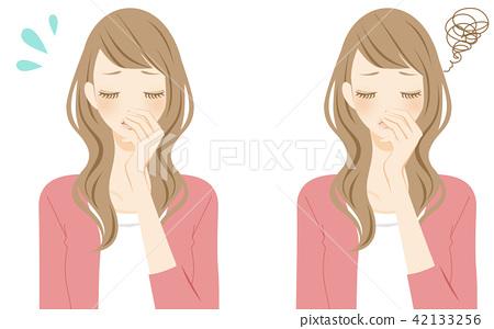 一个患有老化气味的女人 42133256