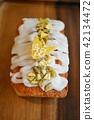 butter cake, pound cake, france 42134472