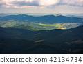 beautiful mountainous landscape background 42134734