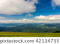 beautiful landscape under the summer sky 42134735
