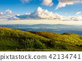 beautiful clouds over the summer mountain landscap 42134741