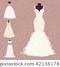 แต่งตัว,เดรส,งานแต่งงาน 42136178