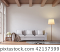 Scandinavian living room 3d render 42137399