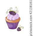 berry, cake, cupcake 42138161