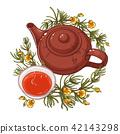 flower drink tea 42143298