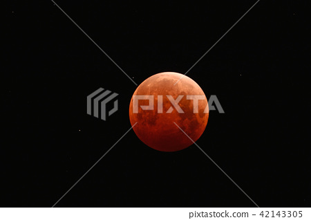 moon, lunar eclipse, totality 42143305