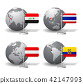 Iraq, Thailand, Austria and Ecuador 42147993
