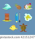 hawaii, icon, tropical 42151247