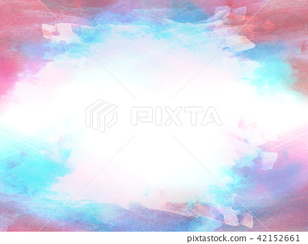 Colorful watercolor illustration painting backdrop 42152661