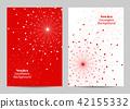 Modern brochure cover design 42155332
