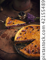 blueberry lavender cheesecake, healthy cake raw 42155489
