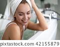 woman, spa, bath 42155879