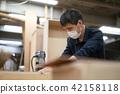 木匠 整顿者 男性 42158118