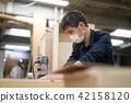 木匠 整顿者 男性 42158120