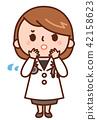 女大夫 女醫生 成熟的女人 42158623