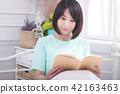 美女与书本 42163463