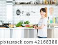 年輕的女士(廚房) 42168388