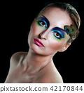Girl peacock 42170844