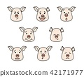 different, icon, pig 42171977