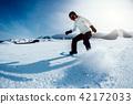 滑雪者 滑雪板 山 42172033