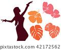 Hawaiian motif 42172562