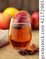Apple cider with spices. 42172965