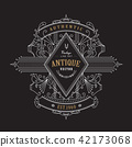 Vintage badge Antique label retro banner design 42173068