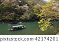 Arashiyama, houseboat, houseboats 42174201