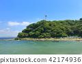 도쿄 만, 해변, 해변가 42174936