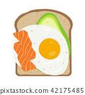 toast egg bread 42175485
