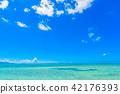 西碼頭海灘(竹富島/沖繩縣) 42176393