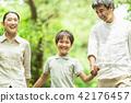 2 세대 가족 숲 42176457