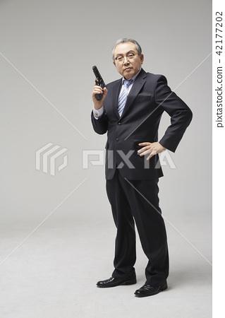 商業,運氣,高級,晚年,老人,韓國人 42177202
