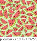 watermelon pattern summer 42179255