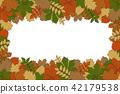 autumn vector hand 42179538