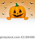 Halloween background with copyspace. Vector. 42180486