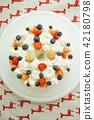 strawberries, strawberry, cake 42180798