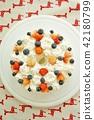 strawberries, strawberry, cake 42180799