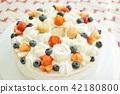 strawberries, strawberry, cake 42180800