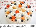 strawberries, strawberry, cake 42180801