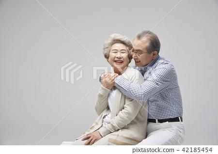 커플,시니어,노인,노년,데이트,취미,휴식,여가 42185454