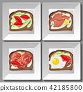 bread diet egg 42185800