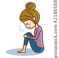 傷心的女人 42186568