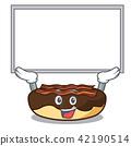 Up board maple bacon bar character cartoon 42190514