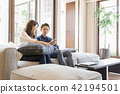 living, room, couple 42194501