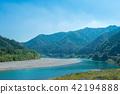 仁淀川의 은어 낚시 42194888
